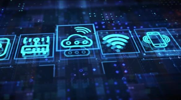 科技5G城市片頭開場AE模板視頻素材