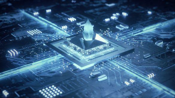 科技芯片动画手机产品芯片视频素材