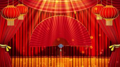 4K新年春节联欢晚会相声表演主题背景永利官网网址是多少