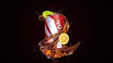 【原創】飲料液體商品廣告包裝AE模板視頻素材