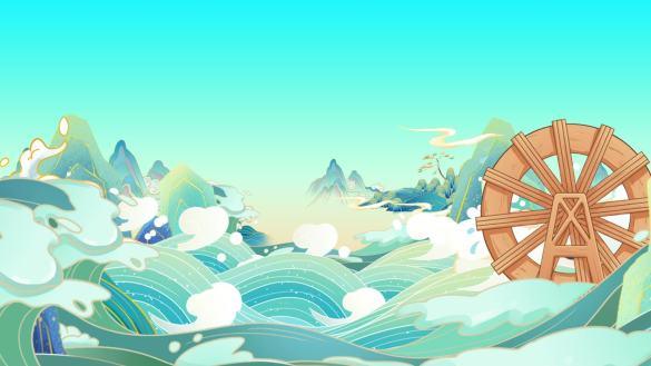 中国风背景视频素材