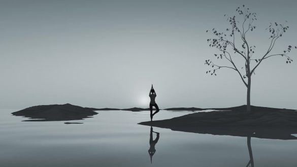 瑜伽概念镜头视频素材